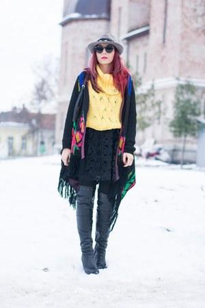 Choies dress - Choies cardigan