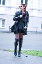 Jeffrey Campbell boots - Choies dress - BADstyle jacket - Michael Kors bag