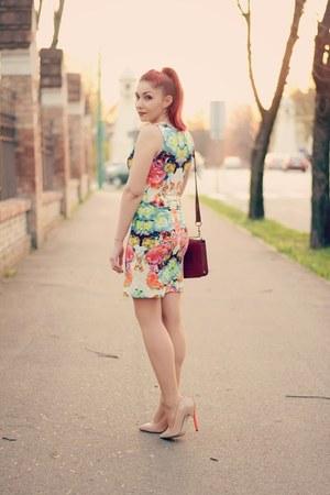 Choies bag - Choies dress - romwe top
