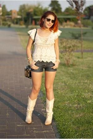 Choies top - Choies shorts