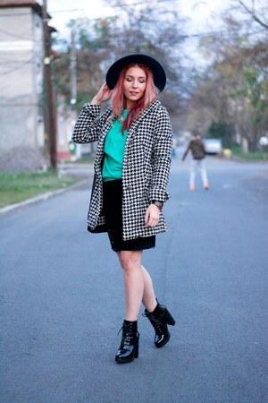 Miss Selfridge hat - Michael Kors bag - Choies skirt