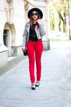 romwe top - dior sunglasses - Michael Kors watch - Choies heels