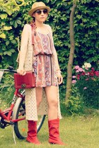 Boho inspired bike look