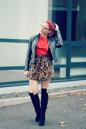 Choies skirt - BADstyle jacket