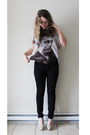 Off-white-james-dean-t-forever-21-shirt-black-black-pants-joe-fresh-pants