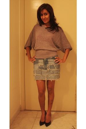 Splash top - random from Dubai skirt - Newlook shoes