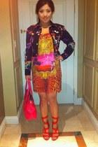 versace heels - Versace for H&M dress - Versace for H&M jacket