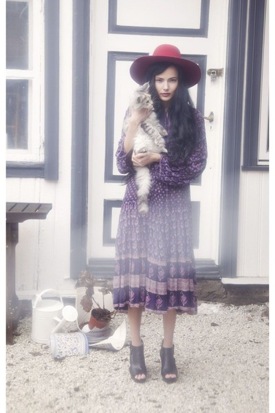 purple vintage My Cup of Tea Vintage dress