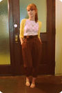 Cardigan-hanky-panky-t-shirt-pants