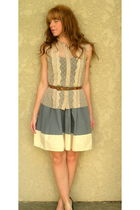 Urban Outfitters blouse - Urban Outfitters dress - belt