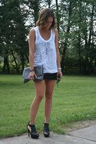forever 21 top - GoJane shoes - melie bianco purse - barestyle bracelet