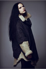 Wedges-nelly-shoes-shearling-diy-vintage-jacket-lindex-tights