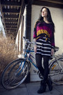 Orange-striped-monki-shirt-white-striped-monki-shirt-black-kmart-tights-bl