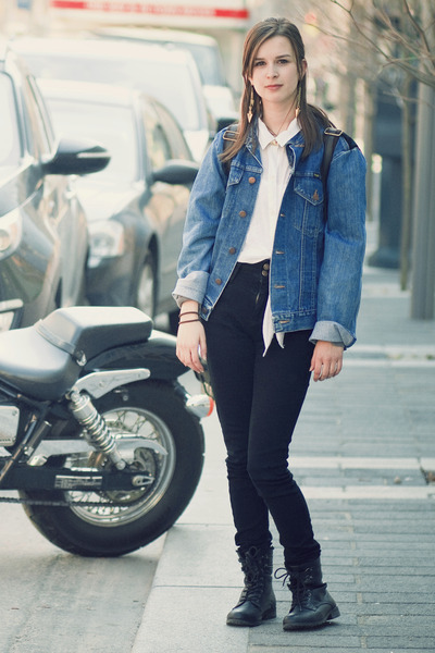 Jeans And Jean Jacket | Outdoor Jacket