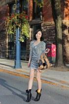 black Spring heels