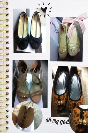 beige random brand heels