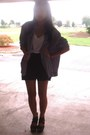 Black-moms-closet-jacket-black-macys-shorts-white-forever-21-t-shirt