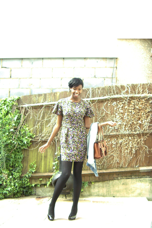 Faith shoes - Topshop dress - Oasis purse