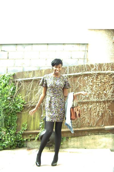 Faith shoes - Topshop dress - Oasis purse