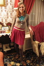Minnetonka shoes - American Apparel shirt - Salvation Army skirt - my grandma be