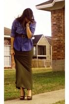 Forever 21 skirt - Charlotte Russe blouse