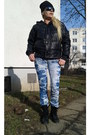Pataugas-shoes-blue-py-jeans-jeans-black-missy-jacket