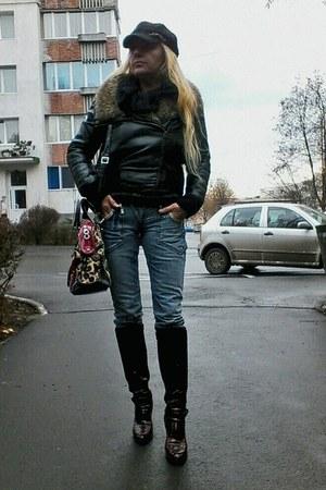 black new look jacket
