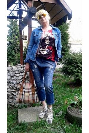 blue jeans - blue Object jeans