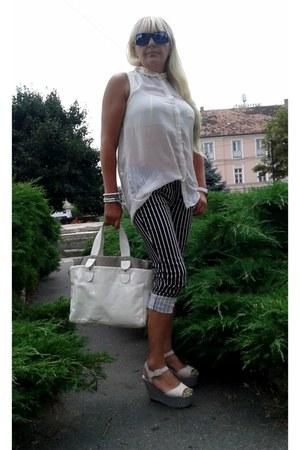 beige chic zara bag Zara bag