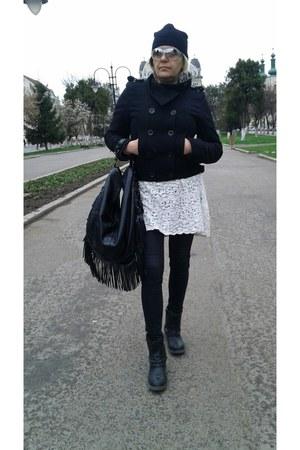 ivory chic zara dress Zara dress