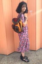 Beara Beara bag - floral jumpsuit Floral Jumpsuit romper
