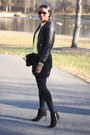 Black-fringed-robbi-nikki-skirt-booties-schutz-boots-black-acne-jacket