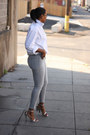 Mens-banana-republic-shirt-skinny-habitual-jeans-cape-alexander-wang-heels