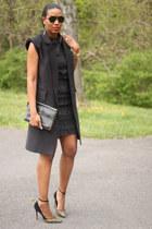 DIY vest - DIY dress - Jean Michael Cazabat heels