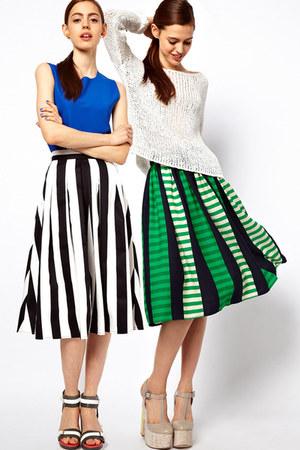 printed skirtks asos skirt