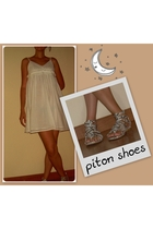 dress - piton shoes