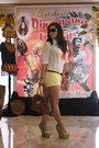 Michael-kors-purse-zara-shorts-diesel-top-padini-authentics-belt