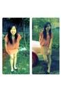 Light-orange-dress