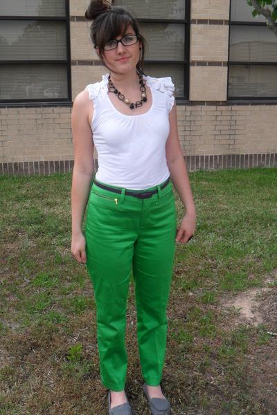 Forever 21 shirt - Ralph Lauren pants