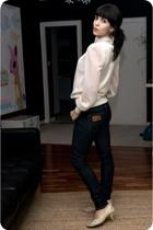 Lois jeans - JJ Park top shop shirt - Irregular Choice shoes