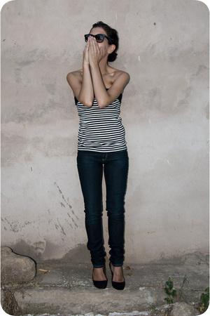 jeans - t-shirt