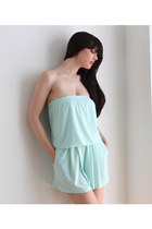 aquamarine French Closet romper