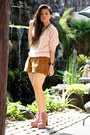 Pink-jeffrey-campbell-boots-brown-forever-21-shorts