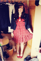 H&M dress - Love Label blazer - Dorothy Perkins shoes