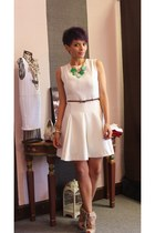 off white Funky Elegance dress - ivory Aldo sandals