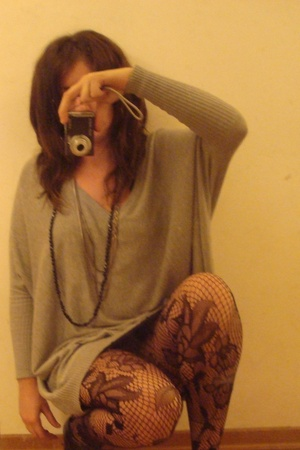 Mango sweater - omsa tights