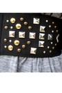 Silver-zara-dress-black-naf-naf-jacket-black-h-m-belt-black-uo-boots