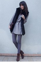 Ernest dress - vintage jacket - H&M boots - vintage accessories