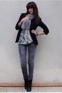 Silver-zara-t-shirt-gray-diabless-jeans-black-zara-blazer-black-uo-boots-