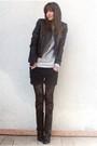 Black-zara-jacket-silver-zara-sweater-black-zara-shorts-black-chantal-thom